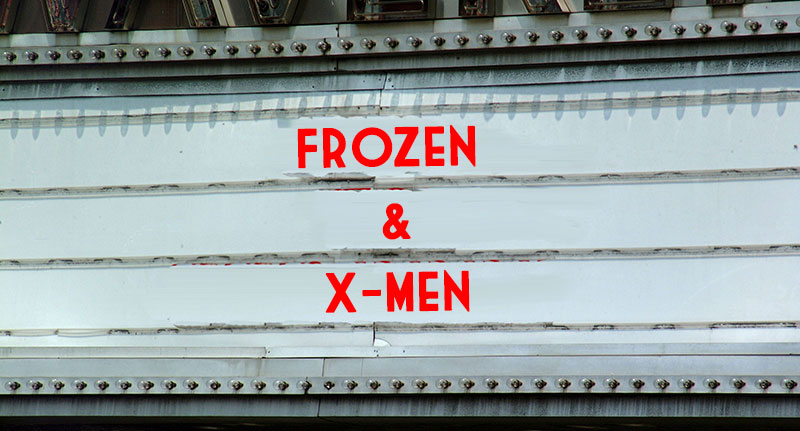 the frozen and x-men shared cinematic universe