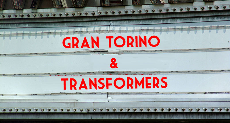 the gran torinio and transformers shared cinematic universe