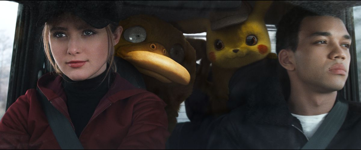 detective pikachu ditto girl